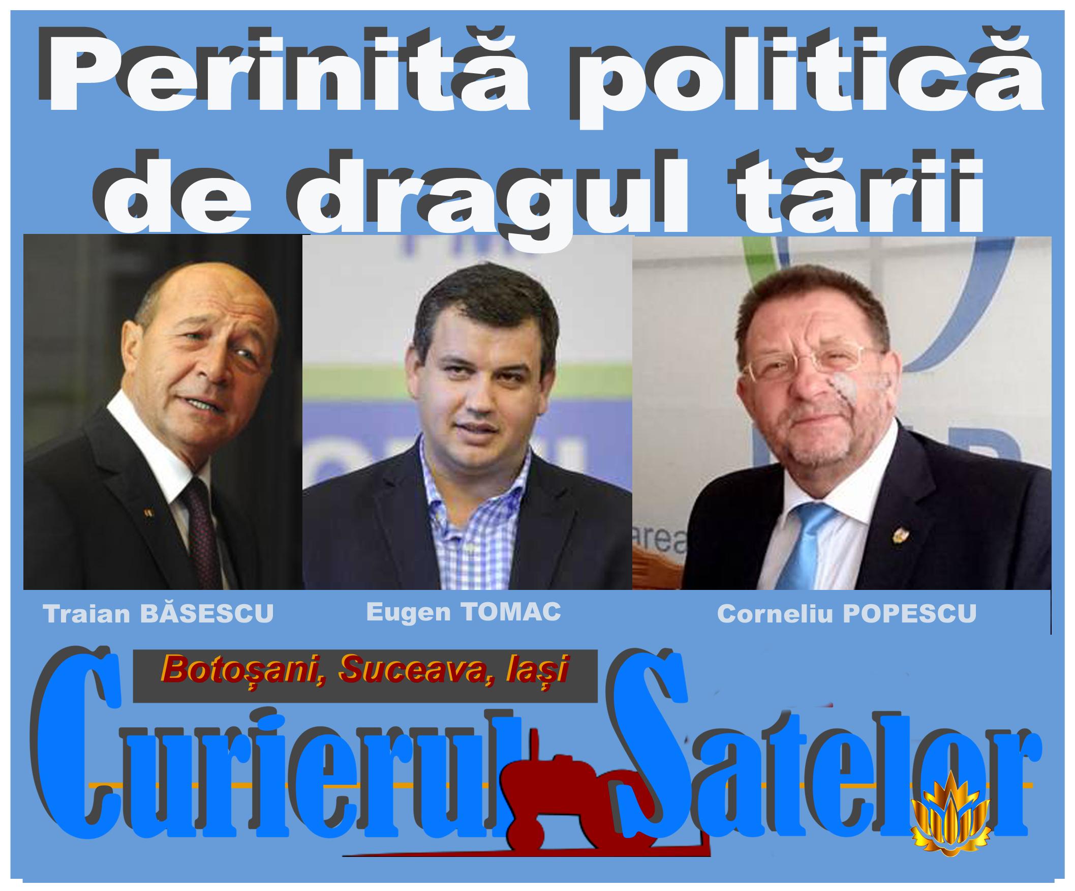 BREAKING NEWS Băsescu, Tomac și Popescu au băgat bisturiul realității în rănile României. PMP Botoșani primește patru funcții cheie în Botoșani și una la capitală 1