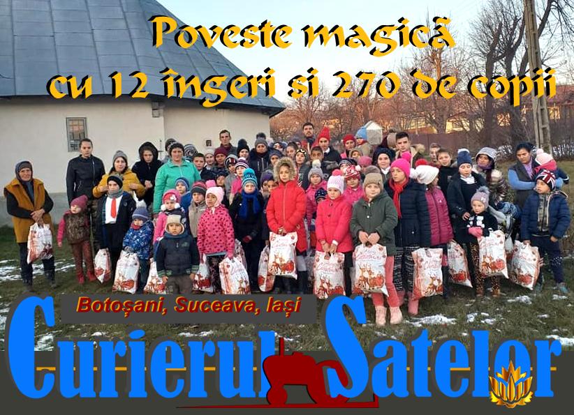 12 îngeri din București au bucurat 270 de copii din Brăești. Poveste magică dar reală cu raiul de lângă noi 6