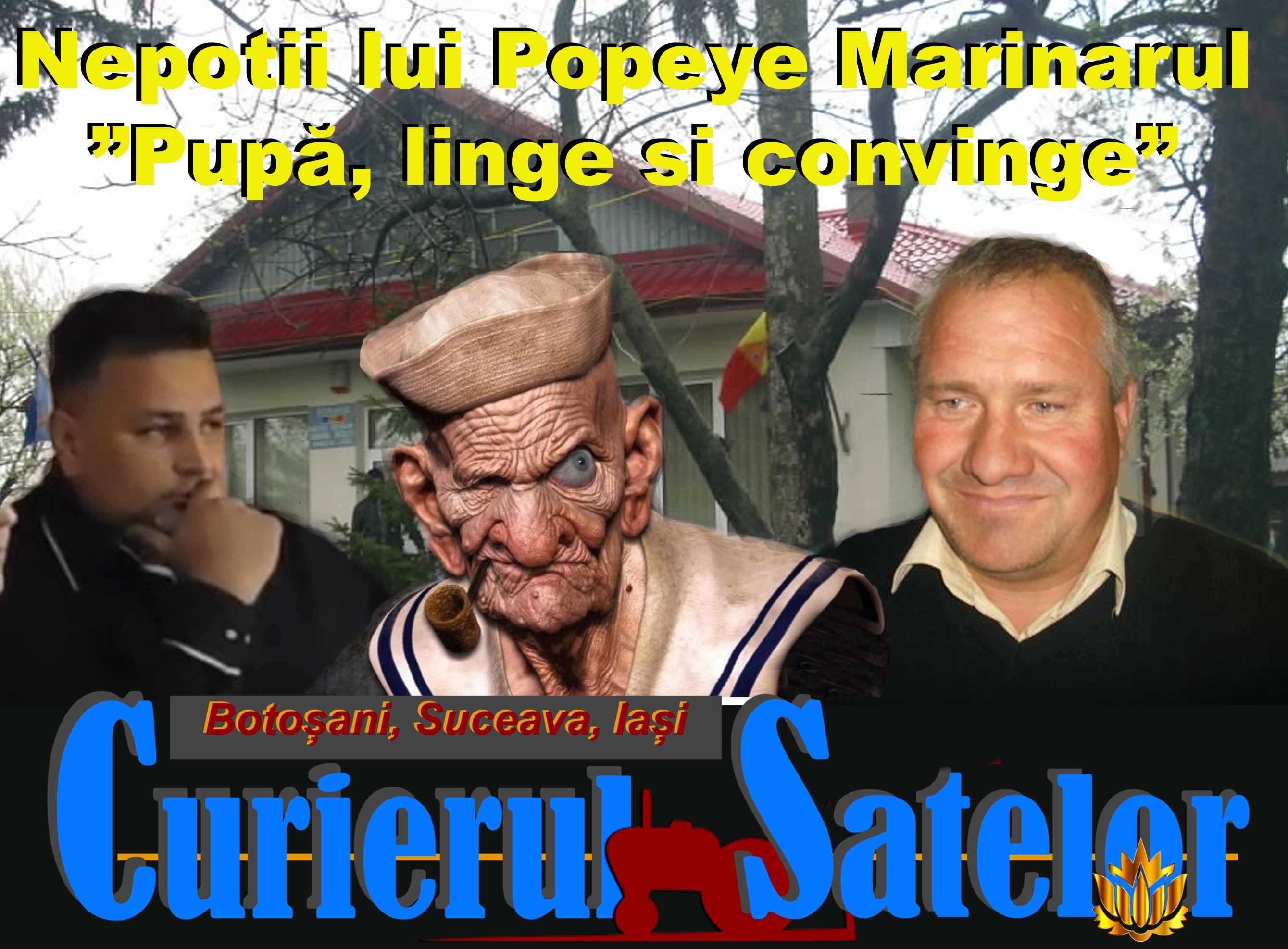Mărturiile unui pesedist. Nepoții lui Popeye Marinarul trăiesc la Brăești, consumă rahat în loc de spanac, pupă, ling și conving 22