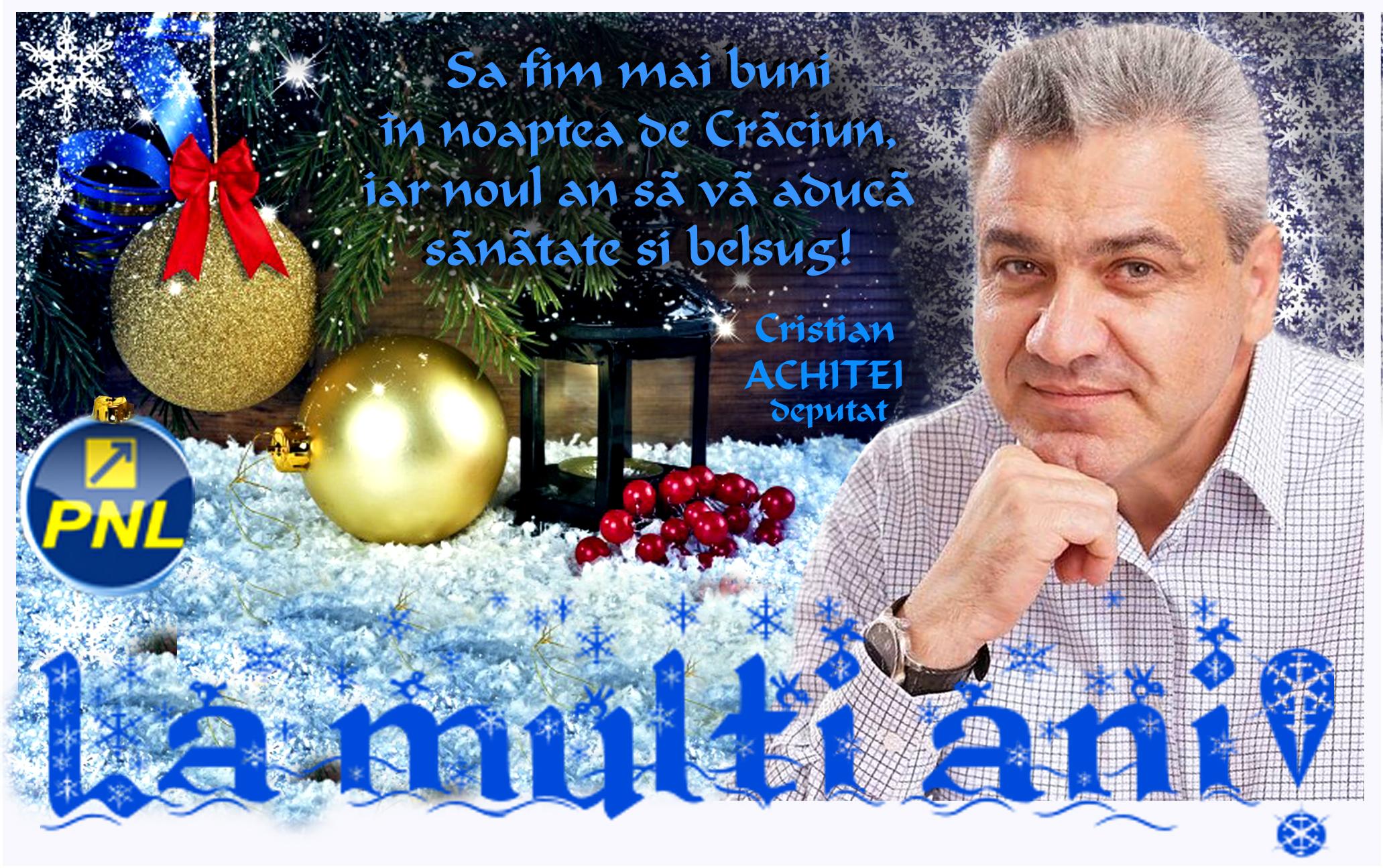 Deputat Cristian Achiței - sărbători binecuvântate, ca în copilărie 19