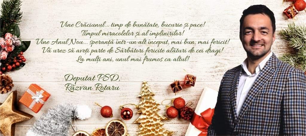 Crăciunul este timp de bunătate, spune deputatul Răzvan Rotaru 25