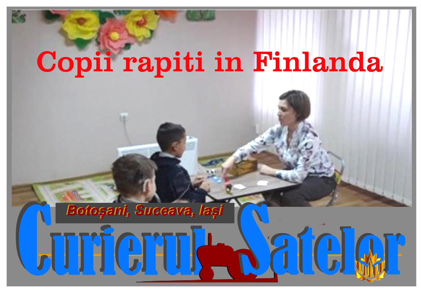 Copii răpiți de mafia modernă.  PROTEST al românilor pe pagina de facebook a Ambasadei Finlandei 2