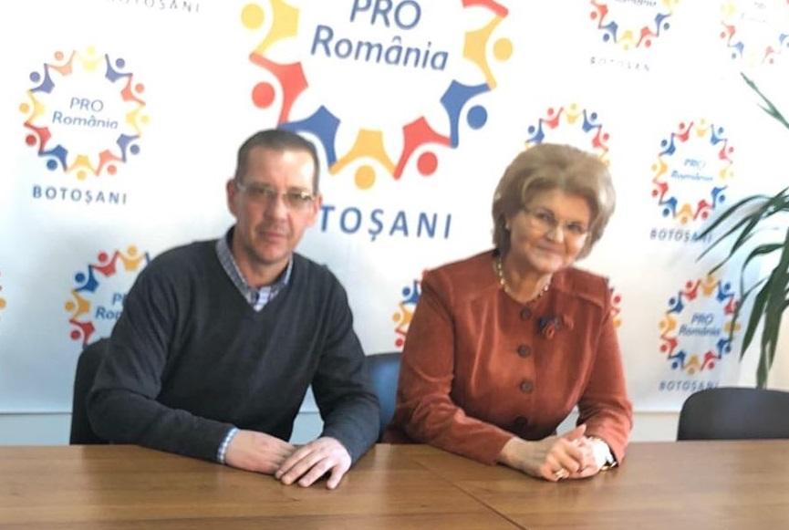 Primarul din Vorniceni a găsit speranța la Pro România unde s-a și înscris 25