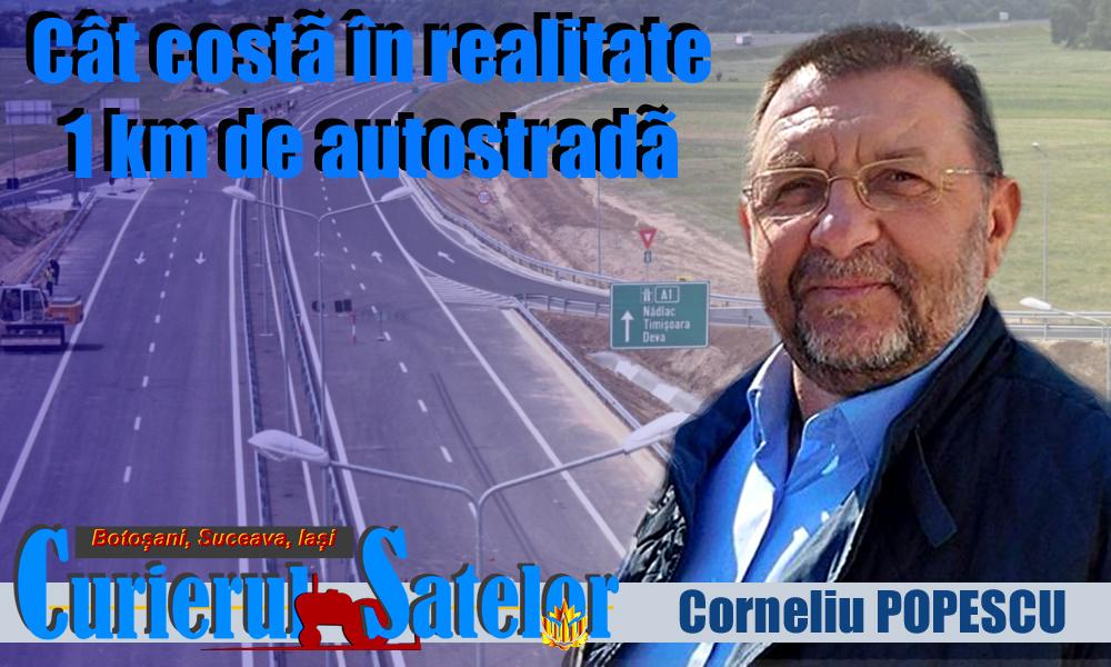 În sfârșit, un lider a spus de ce nu avem autostrăzi și cine stă cu trompa în bugetul statului.  1 km de autostradă costă 800.000 euro, 10,2 milioane de euro pe km sunt bani sifonați de șmecheri 11