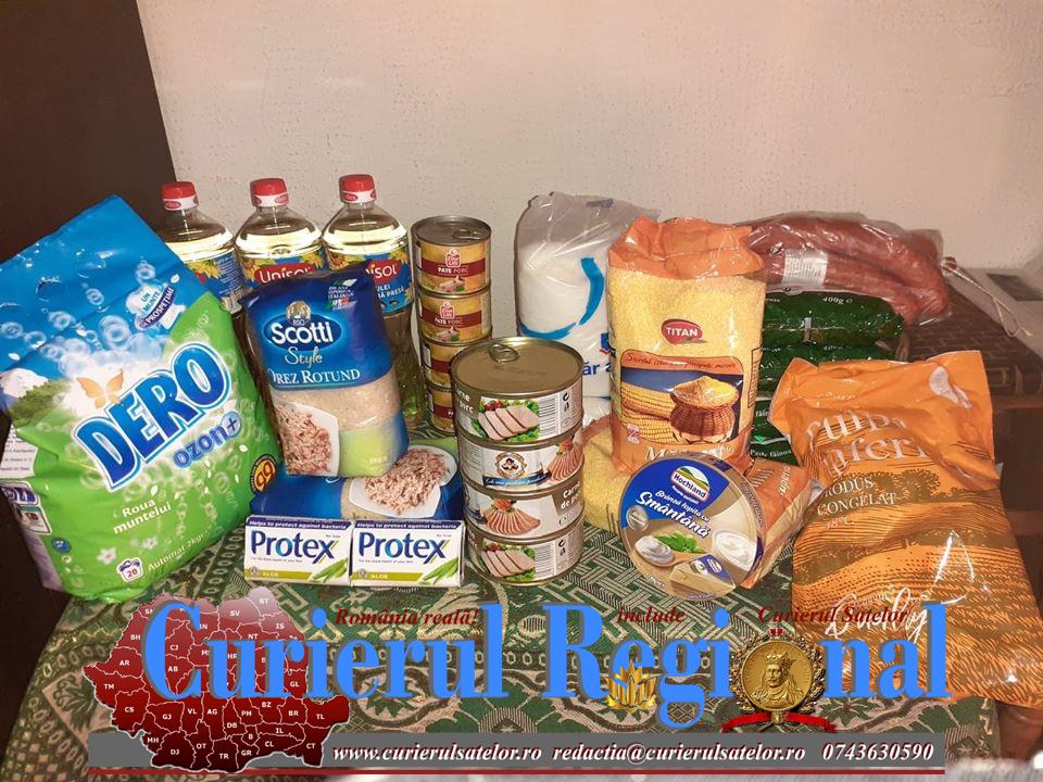 Așa da. Alimente pentru familiile nevoiașe oferite de Primăria Broșteni 16