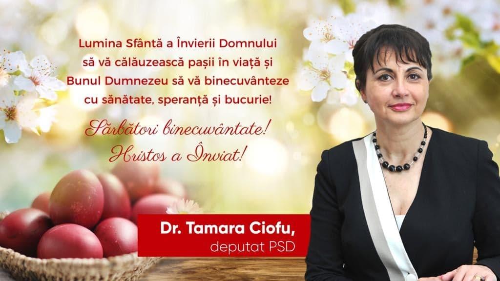 Tamara Ciofu: Lumina Învierii să vă binecuvânteze cu speranță și bucurie! 27