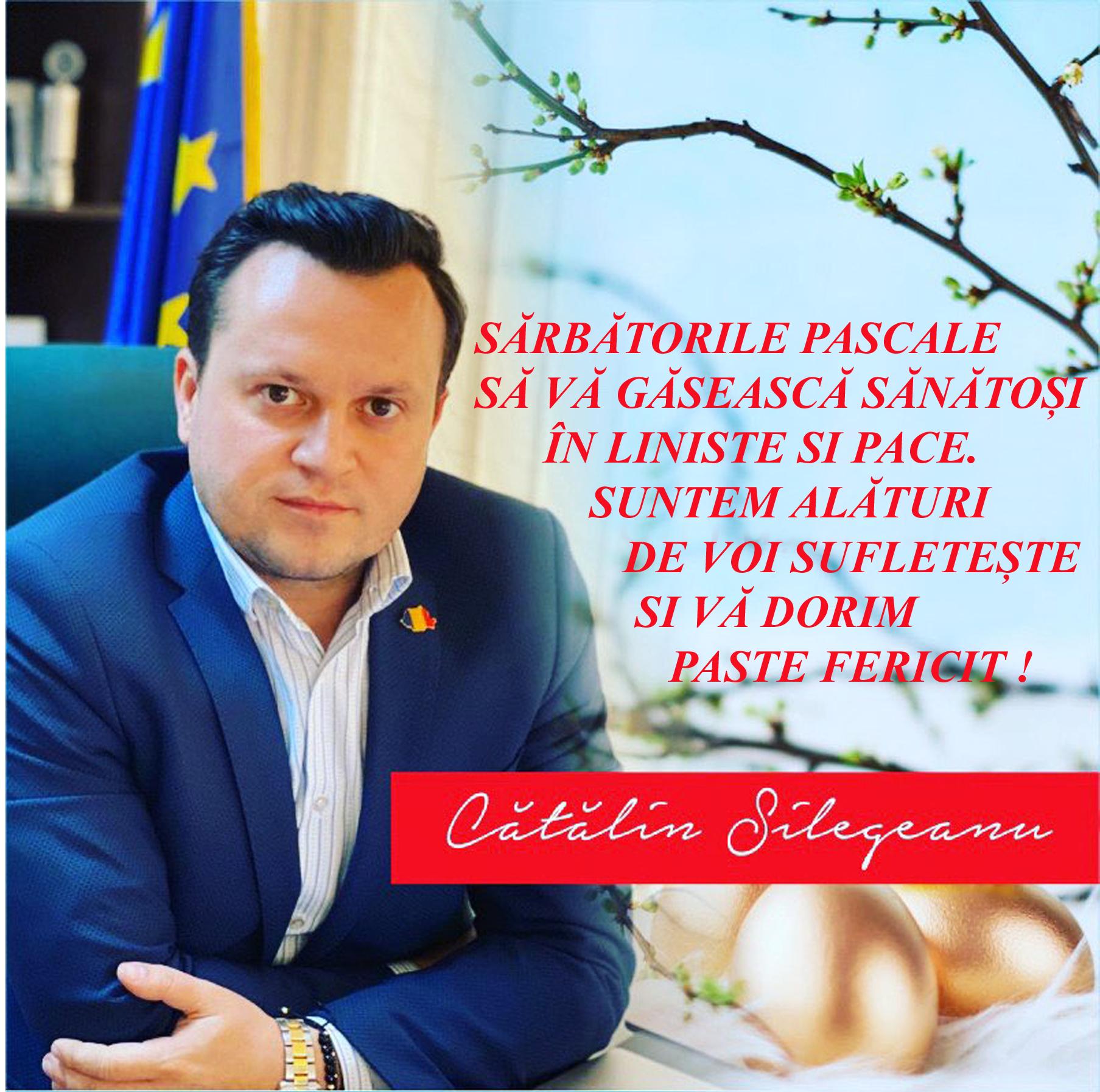 Cătălin Silegeanu - mesaj de Sărbători 24