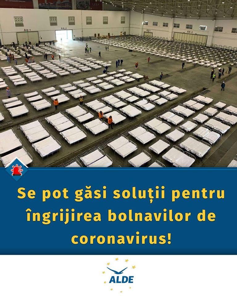 ALDE are soluții pentru spitalele Covid. Trebuie cineva să le aplice 11