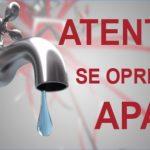 Se întrerupe apa în Dorohoi și 4 comune – anunțul Nova Apaserv